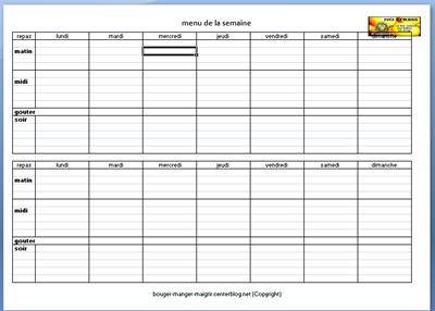 programme perte de poids pdf